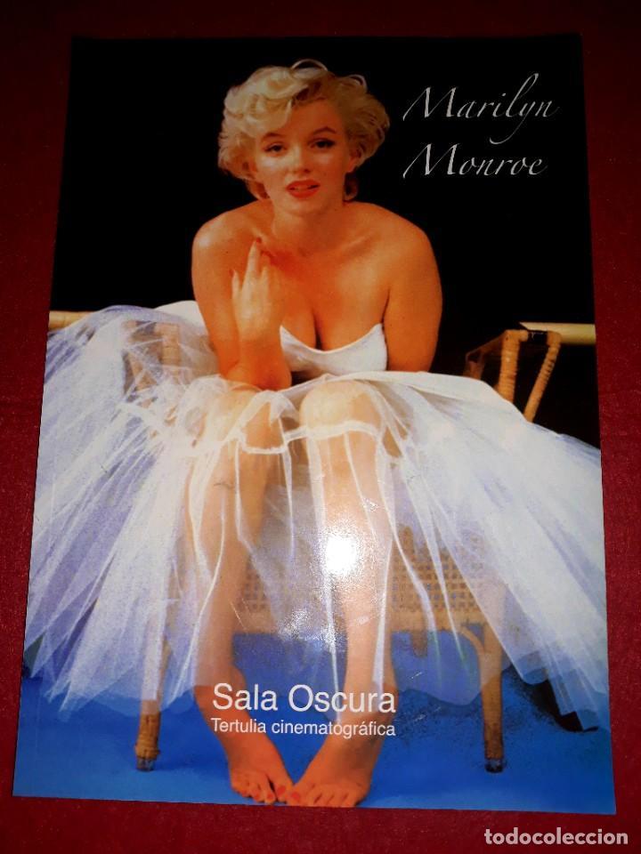 MARILYN MONROE SALA OSCURA TERTULIA CINEMATOGRÁFICA (Cine - Biografías)
