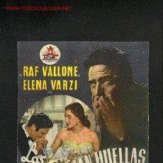 Cine: LOS OJOS DEJAN HUELLAS (DOBLE). Lote 915102