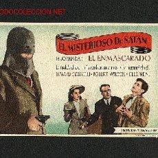 Cine: EL MISTERIOSO DR.SATAN (1ª JORNADA: EL ENMASCARADO). Lote 880250