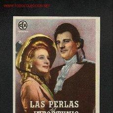 Cine: LAS PERLAS DEL INFORTUNIO. Lote 912675