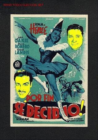 POR FIN SE DECIDIO (SOLIGO) (Cine - Folletos de Mano)