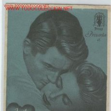 Cine: GREGORY PECK - RECUERDA - INGRID BERGMAN - ALFRED HITCHCOCK . Lote 22684805