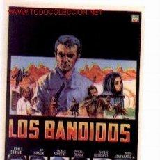Cine: 19-92. PROGRAMA. LOS BANDIDOS. Lote 87703