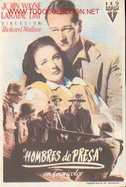 HOMBRES DE PRESA (Cine - Folletos de Mano - Westerns)