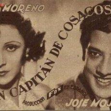Cine: UN CAPITÁN DE COSACOS. Lote 25593179