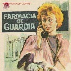 Cine: JANO - FARMACIA DE GUARDIA - CLEMENTE PAMPLONA - JOSE ROMEU. Lote 29577087