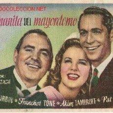 Cine: DEANNA DURBIN - EDICI - LA HERMANITA DEL MAYORDOMO. Lote 1254360
