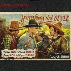 Cine: HOMBRES DEL OESTE. Lote 663041
