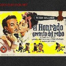 Cine: EL HONRADO GREMIO DEL ROBO. Lote 663271