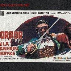 Cine: HORROR EN LA MANSION FORDYKE. Lote 663447