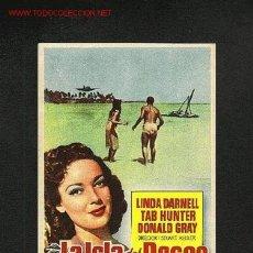 Cine: LA ISLA DEL DESEO. Lote 664408