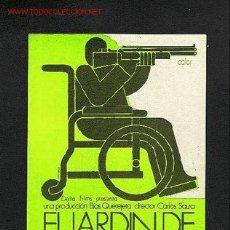 Cine: EL JARDIN DE LAS DELICIAS. Lote 664572