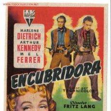 Cine: ENCUBRIDORA MARLENE DIETRICH PMD 1. Lote 294166463
