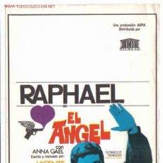 Cine: EL ANGEL RAPHAEL PMD 43. Lote 697551