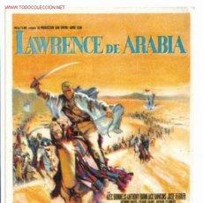 Cinéma: LAWRENCE DE ARABIA PMD50. Lote 18480052
