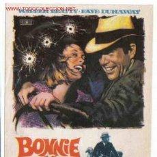Cine: BONNIE Y CLYDE , SENCILLO , ORIGINAL PMD 77. Lote 210606923