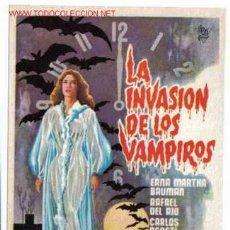 Cine: LA INVASION DE LOS VAMPIROS PMD 88. Lote 27351448