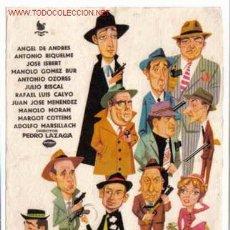 Flyers Publicitaires de films Anciens: LA PANDILLA DE LOS 11 PMD 93. Lote 27451609