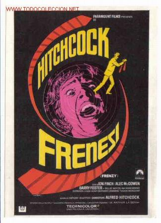 FRENESI HITCHCOCK PMD 115 (Cine - Folletos de Mano - Suspense)