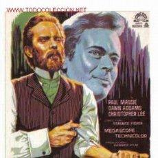 Folhetos de mão de filmes antigos de cinema: LAS DOS CARAS DEL DR. JEKYLL PMD 127. Lote 26801863