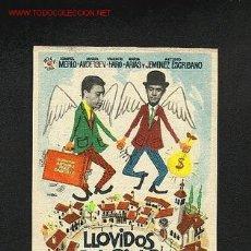 Cine: LLOVIDOS DEL CIELO. Lote 710805
