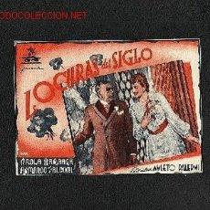 Cine: LOCURAS DEL SIGLO (DOBLE). Lote 711124