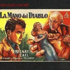 Cine: LA MANO DEL DIABLO. Lote 712025