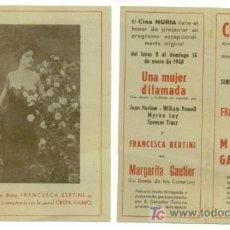 Cine: CINE MUDO - MARGARITA GAUTIER - AÑO 1940. Lote 27228148