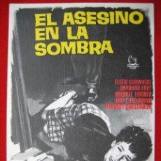 Cine: PROGRAMA DE CINE, EL ASESINO EN LA SOMBRA. Lote 19288356