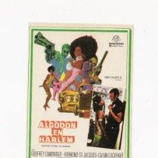 Cine: ALGODON EN HARLEM, PROGRAMA ORIGINAL. Lote 3504940
