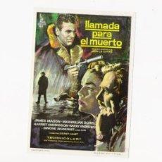 Cine: LLAMADA PARA EL MUERTO, PROGRAMA ORIGINAL. Lote 3504959