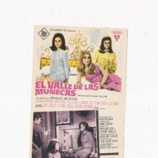 Cine: EL VALLE DE LAS MUÑECAS, PROGRAMA ORIGINAL. Lote 3504985