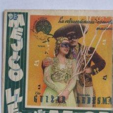 Cine: DE MEJICO LLEGO EL AMOR - FOLLETO MANO DOBLE - TITO GUIZAR AMANDA LEDESMA. Lote 6295397