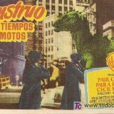 Cine: EL MONSTRUO DE TIEMPOS REMOTOS. Lote 27949213