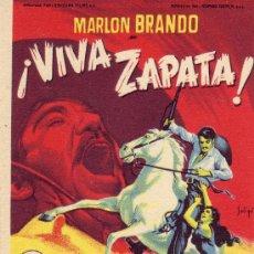 Cine: ¡ VIVA ZAPATA! CON MARLON BRANDO DE LA 20TH CENTURY FOX. Lote 23806580