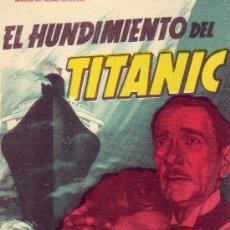 Cine: EL HUNDIMIENTO DEL TITANIC. Lote 23859399