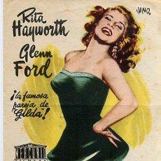 Flyers Publicitaires de films Anciens: LA DAMA DE TRINIDAD , SENCILLO , PM5564. Lote 33576930