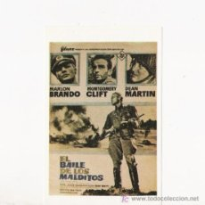 Flyers Publicitaires de films Anciens: EL BAILE DE LOS MALDITOS, PROGRAMA DE MANO. Lote 97531195