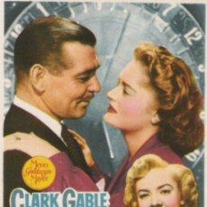 Cine: HAGAN JUEGO CLARK GABLE. Lote 37021512