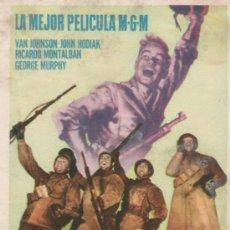 Cine: FUEGO EN LA NIEVE . Lote 4058241