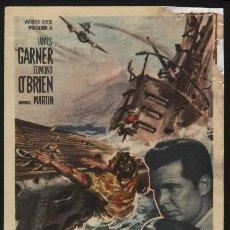 Cine: P-8941- INFIERNO BAJO LAS AGUAS (UP PERISCOPE) JAMES GARNER - EDMOND O'BRIEN. Lote 23874672