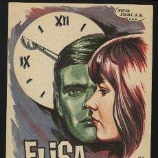 Cine: P-3570- ELISA (DAVID AND LISA) (GRAN VIA - BILBAO) KEIR DULLEA - JANET MARGOLIN - HOWARD DA SILVA. Lote 21823254