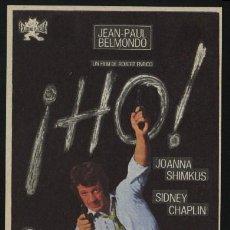 Cine: P-1622- HO! (JEAN-PAUL BELMONDO - JOANNA SHIMKUS - SIDNEY CHAPLIN). Lote 23367430