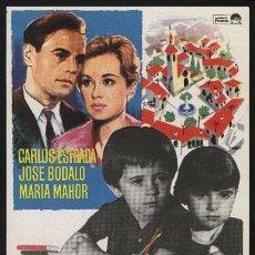 Cine: P-0315- LA BARRERA (JOSE BODALO - CARLOS ESTRADA - MARÍA MAHOR - CARLOS JULIÁ - ROBERTO FONT). Lote 30247002