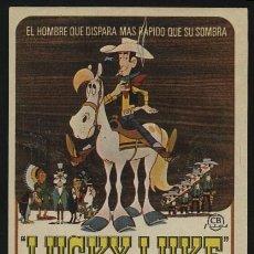 Cine: P-2473- LUCKY LUKE EL INTREPIDO (DAISY TOWN). Lote 24094482