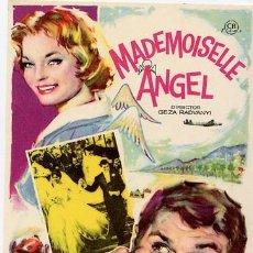 Cinema - MADEMOISELLE ANGEL PROGRAMA SENCILLO CB ROMY SCHNEIDER AUTOMOVILISMO - 4412600