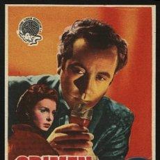 Cinema - P-4604- Crimen sin criminal (Dennis Price - Derek Farr - Patricia Plunkett - Joan Dowling) - 24158990