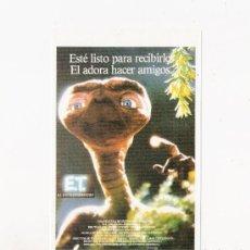 Cine: ET, EL EXTRATERRESTRE, PROGRAMA DE MANO, MODERNO. Lote 62967142