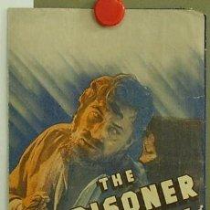 Cine: PRISIONERO DEL ODIO PROGRAMA DOBLE GRANDE AMERICANO 20TH CENTURY FOX WARNER BAXTER JOHN FORD. Lote 4594032