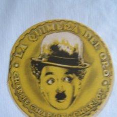 Cine: LA QUIMERA DEL ORO - CHAPLIN - FOLLETO MANO TROQUELADO. Lote 4680491